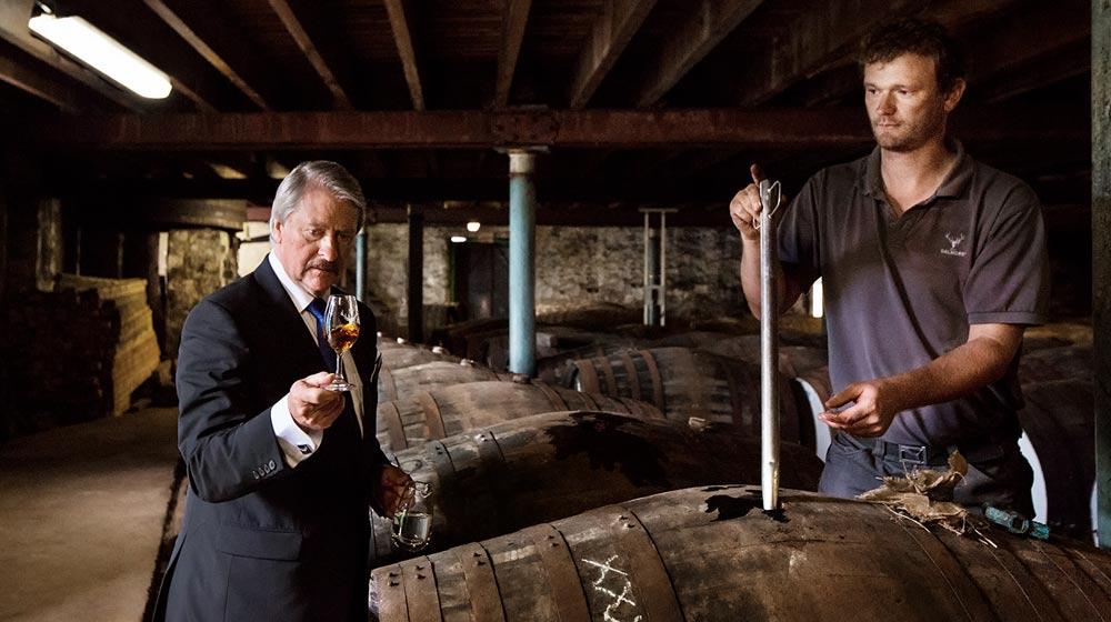 Master Distiller, Richard Paterson