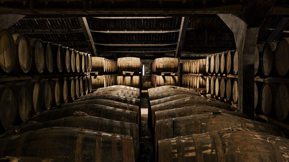 the dalmore whisky house casks