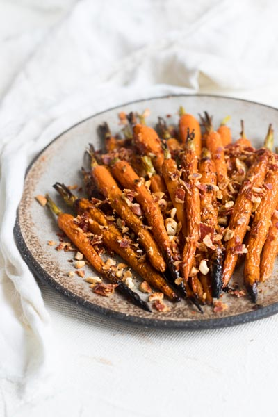 Honey and Chilli Roasted Carrots