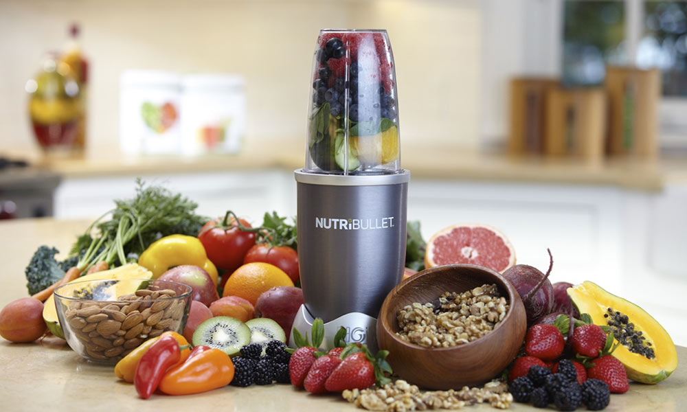 five a day with Nutribullet