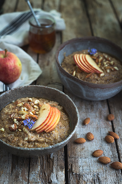 Instant Pot Apple Pie Steel Cut Oats