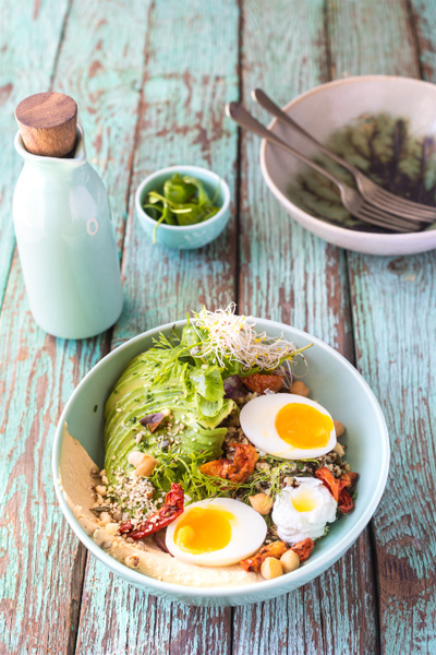 Brunch Quinoa Bowl