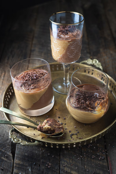 Whisky and Espresso Mousse Verrine