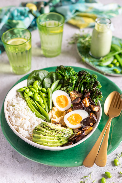 Green Veggie Bowl