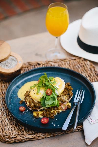 bobotie eggs benedict
