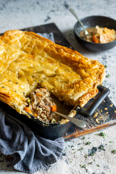 pork shank pie