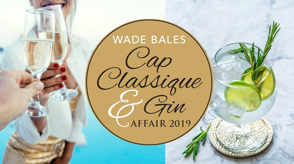 Wade Bales Cap Classique and Gin Affair