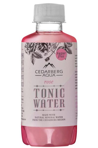 cedarberg aqua sugar free rose tonic water