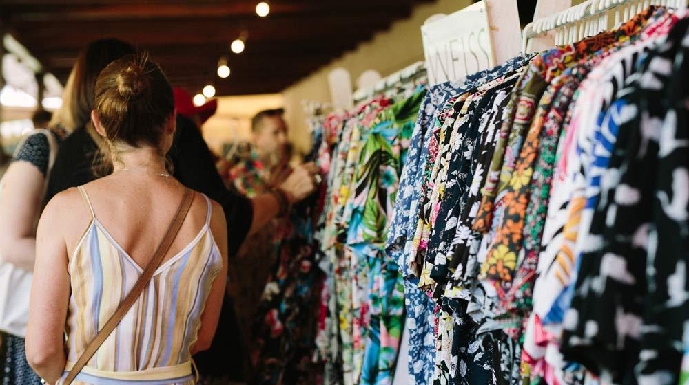 Gabriëlskloof Market clothes stall
