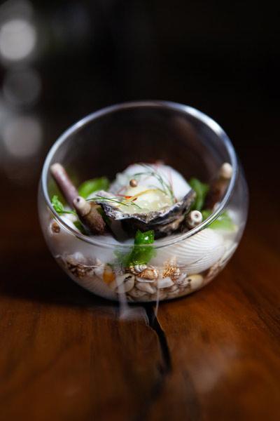 Le chêne restaurant Saldana Bay Oysters