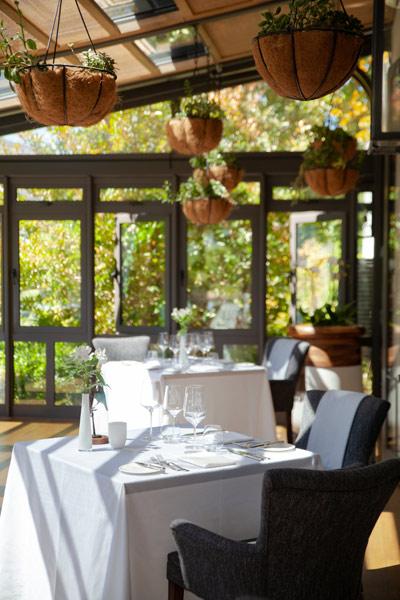 Le chêne at Leeu Estates restaurant interior