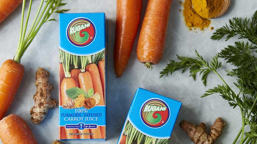 turmeric infused carrot juice
