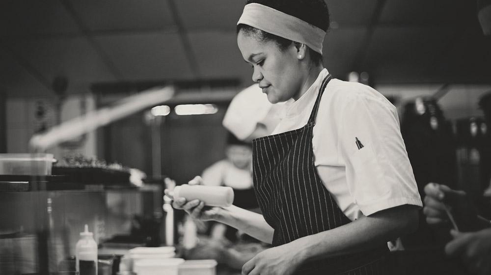 Epice head chef, Charné Sampson