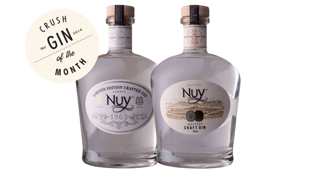 Nuy Mastery Gin & Limited Edition Nuy Legacy Gin