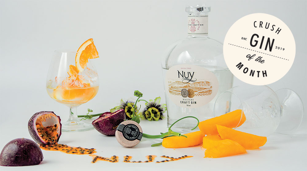 Nuy Gin Crush Gin of the Month