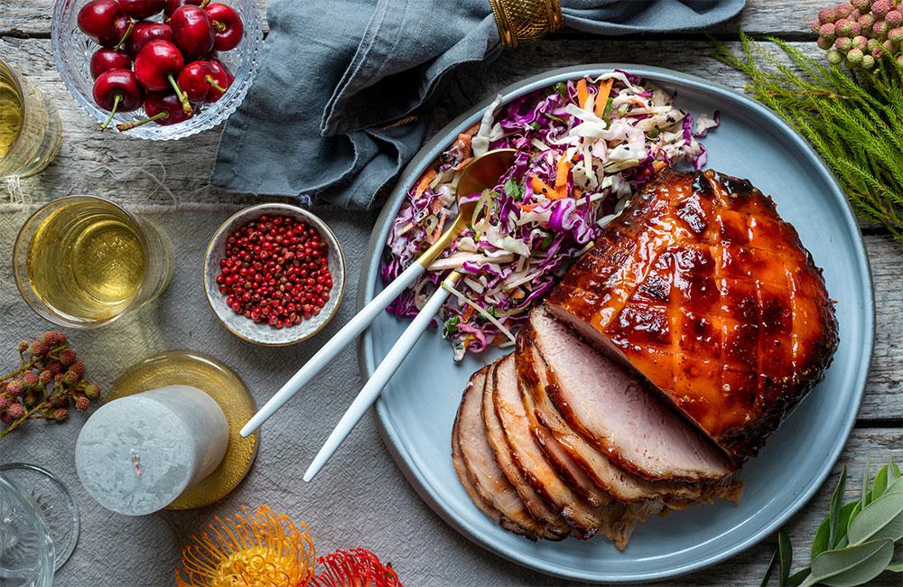 festive season pork gammon