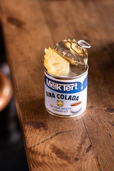 pina colada milk tart cocktail