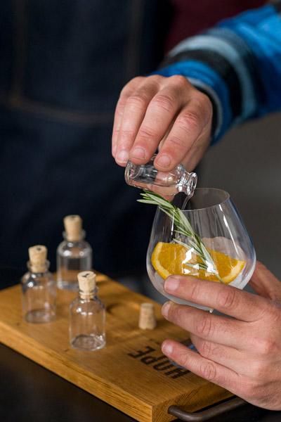 Hope's Immersive Tasting Room Gin