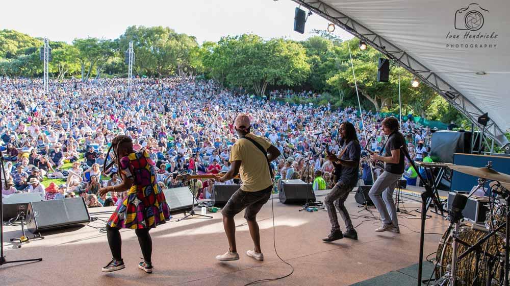 Cape Town Summer Sunset Concerts, Kirstenbosch