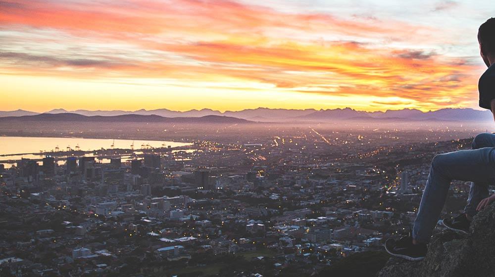 Cape Town Summer Signal Hill view