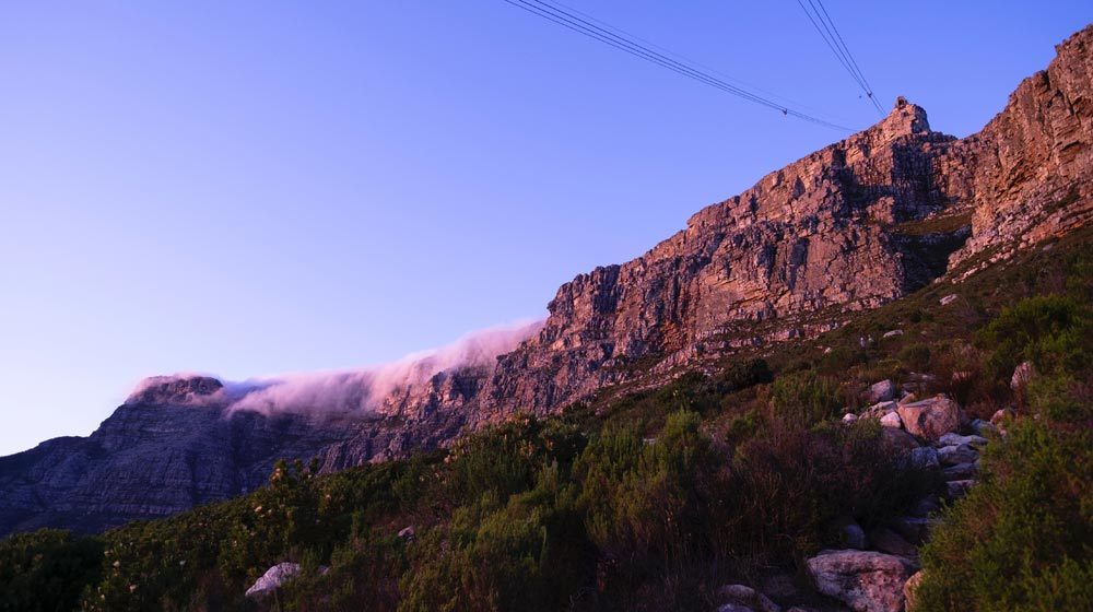 Cape Town Summer Table mountain
