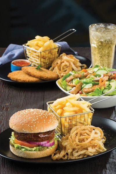 spur vegan-friendly menu Beyond Burger