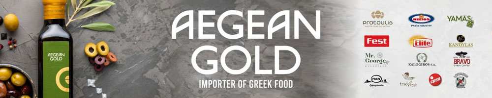 Aegean Gold Banner