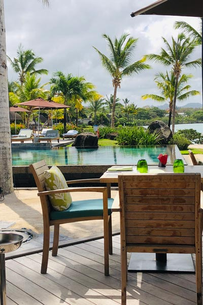 Bambou Restaurant at The Four Seasons Mauritius