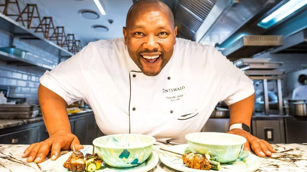Tintswalo Atlantic Head Chef Thando Jaxa