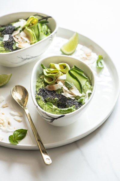 Guacamole Smoothie Bowl