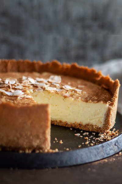 Deep Dish Condensed Milk Tart Recipe Crush Online Magazine
