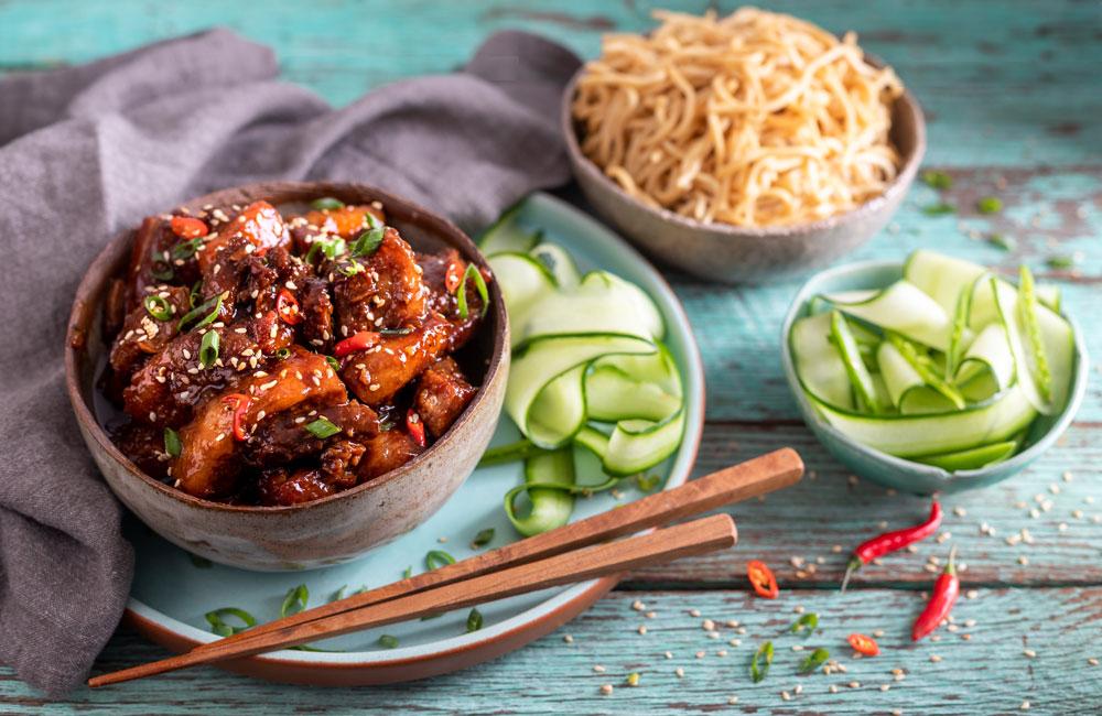 Asian StickPork recipe