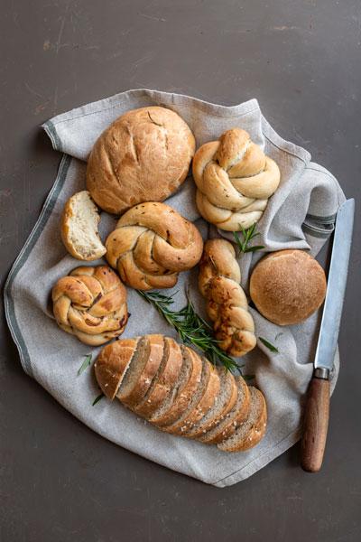 Homemade Bread with Avocado Oil