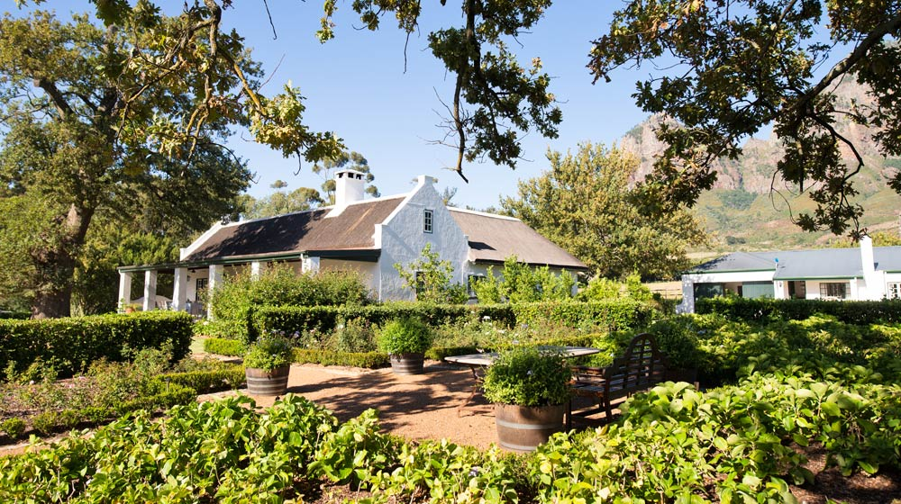 Outside View 1685 Cottage Boschendal