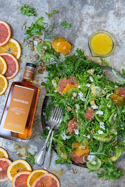 citrusy summer salad