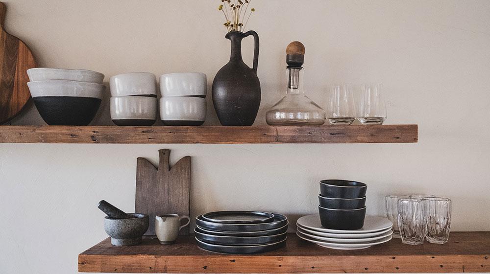 organise kitchen