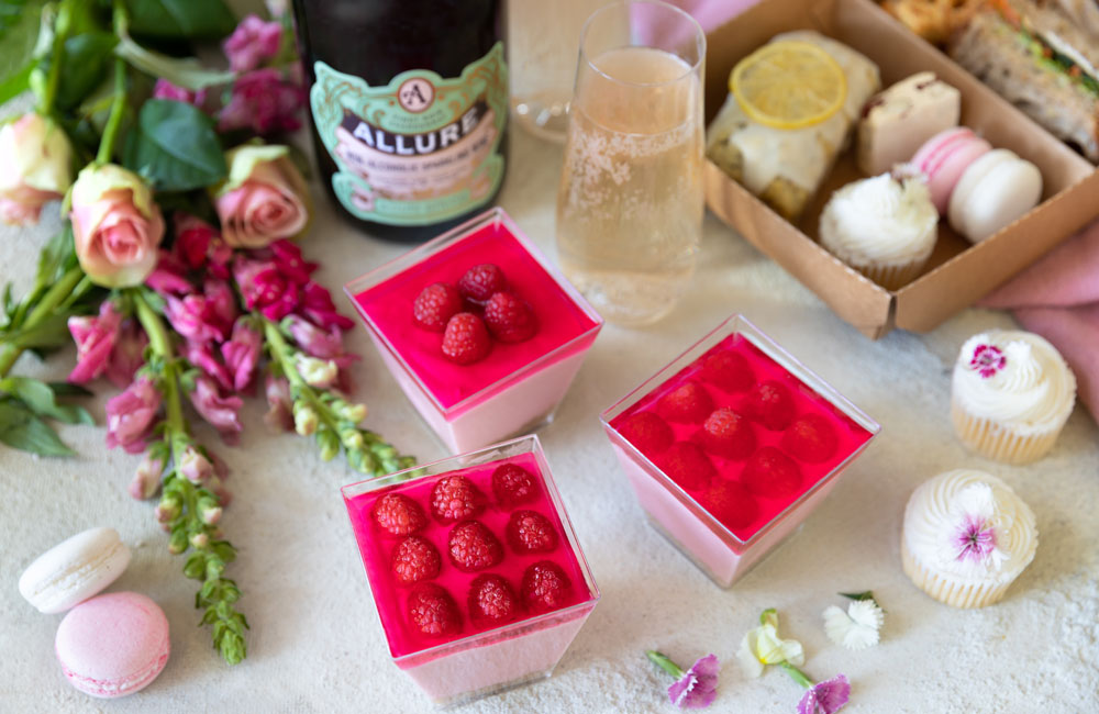 Raspberry Cheesecake Mousse Verrines