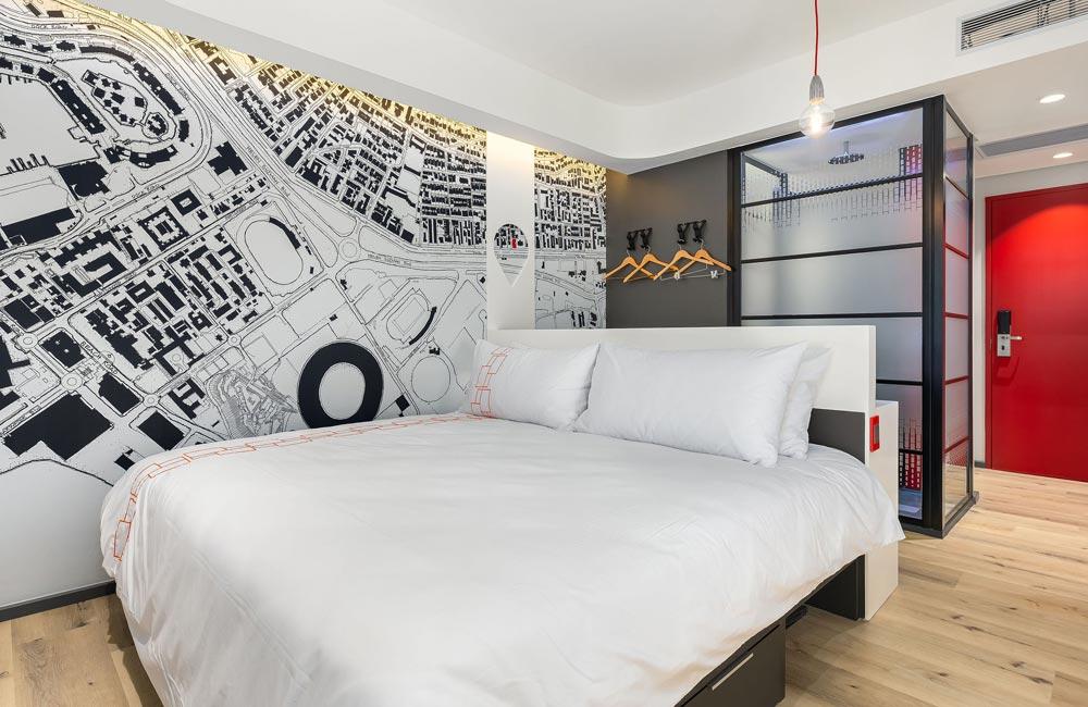 inside room at Vib® Hotel