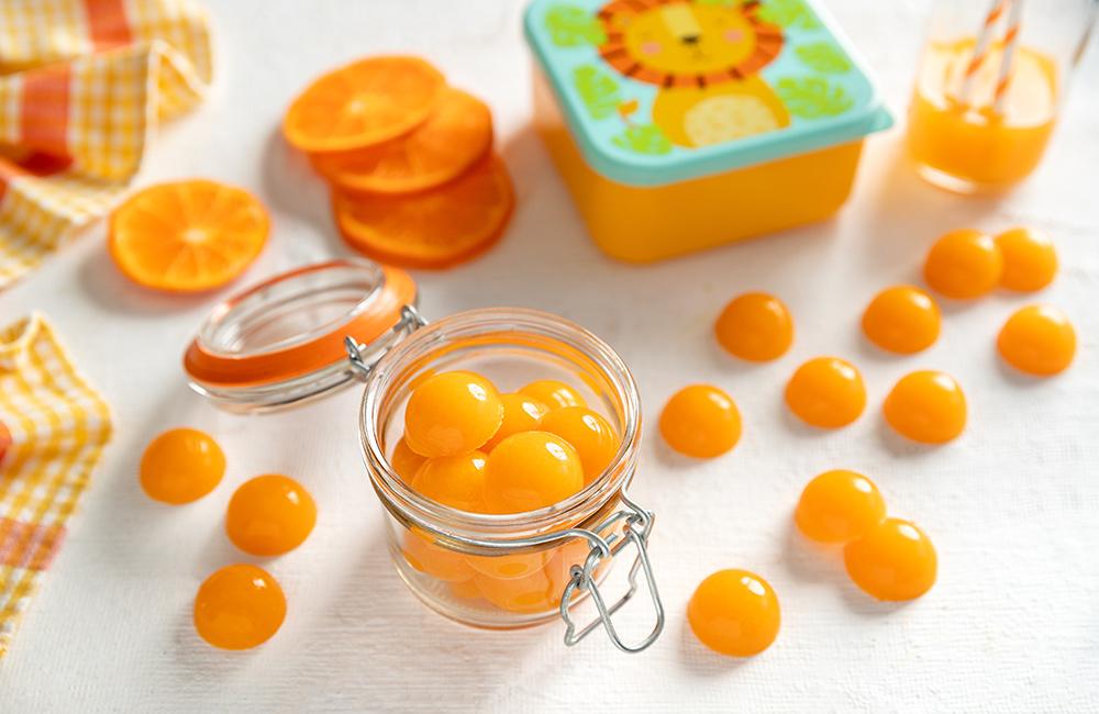 ClemenGold® homemade fruit gummies