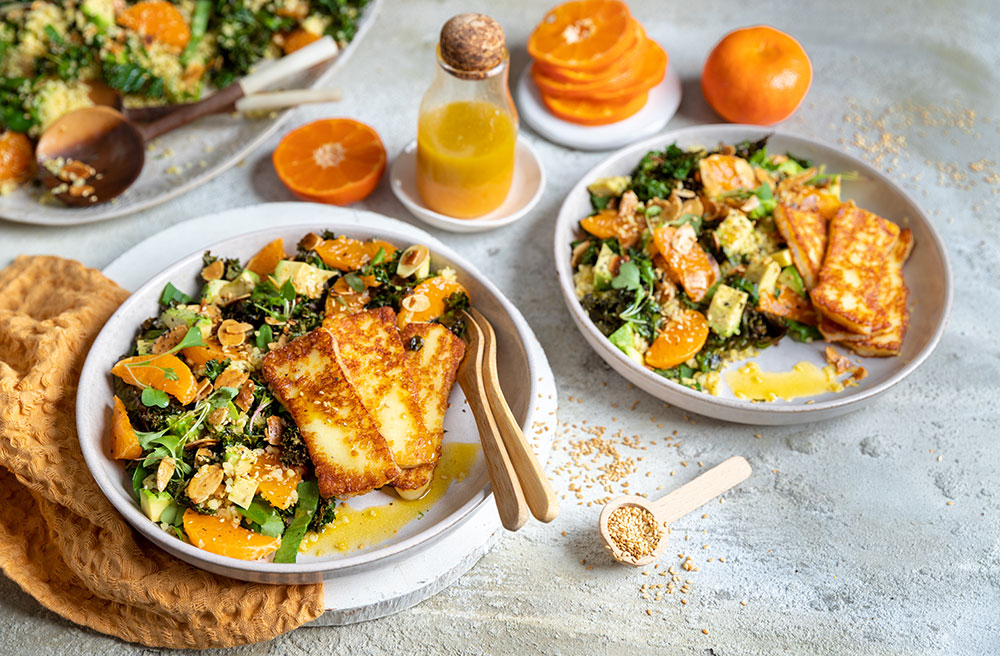 ClemenGold® bulgar wheat salad