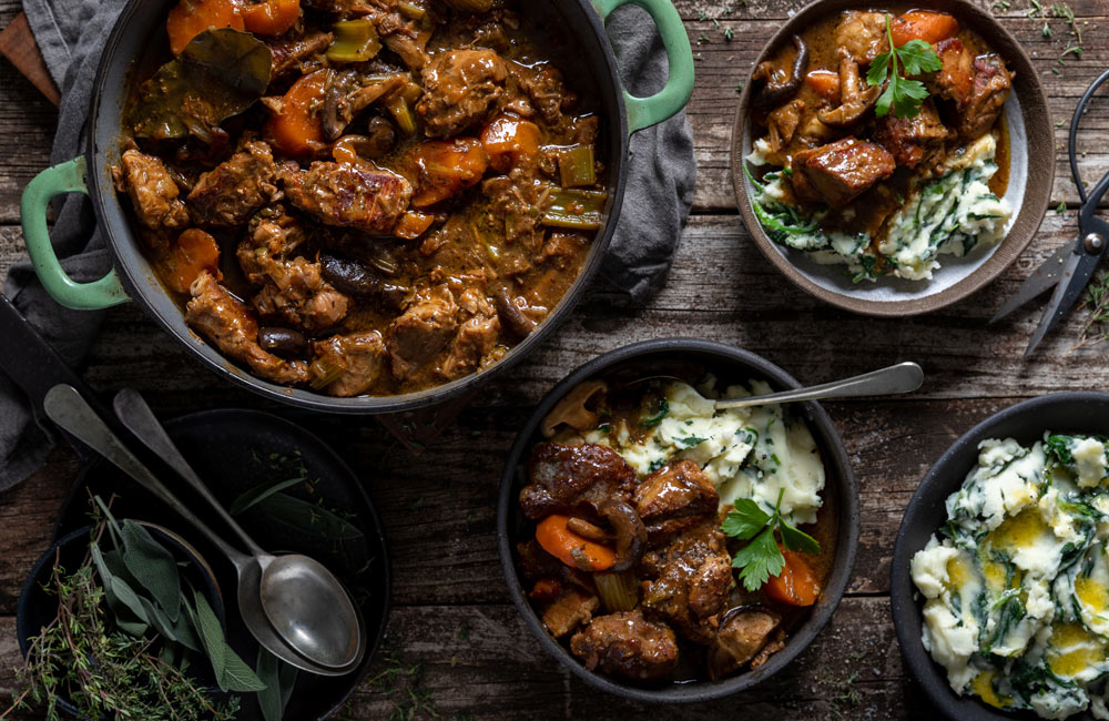Irish stew winter warmers with sa pork