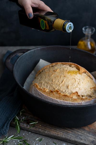basting bread